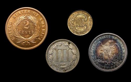 Odd Denomination U.S. Coins
