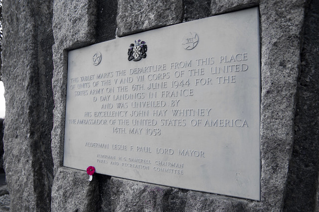 D-Day Embarkation Memorial, Tamar Bridge, Plymouth