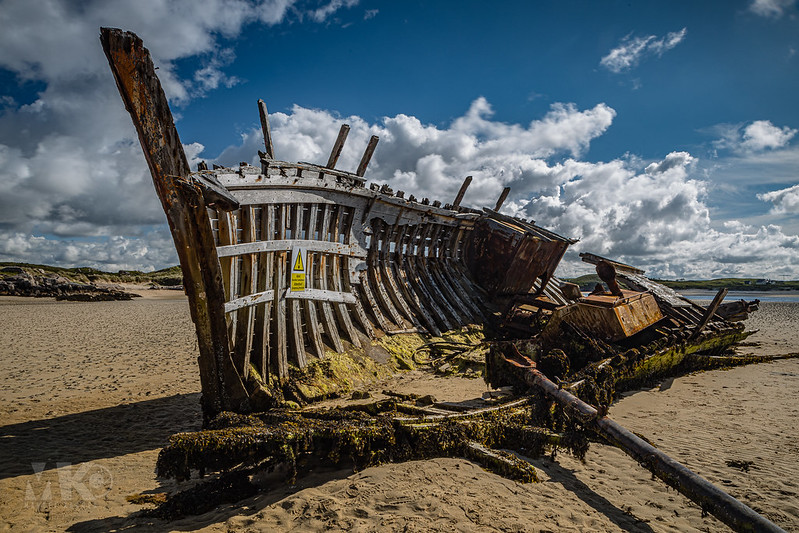 20190608-2019, Bunbeg, Bunbeg Wreck, Cara Na Mara, Irland, Schiffswrack-009.jpg
