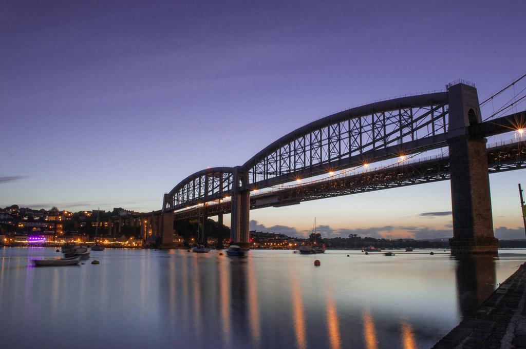 Tamar Bridge, Plymouth