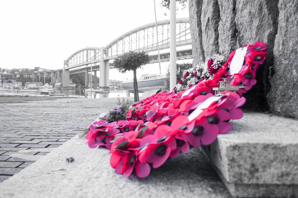 D-Day Embarkation Memorial, Tamar Bridge, Plymouth