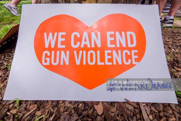 NYC Solidarity Walk With Gun Violence Survivors
