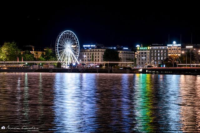 Lake reflections - Geneva - Switzerland - NZ6_1786