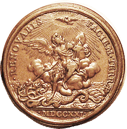 PAPAL Medal Innocent XIII reverse