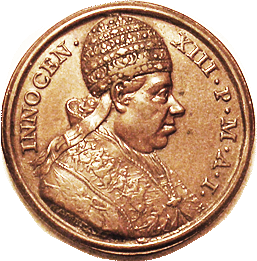 PAPAL Medal Innocent XIII obverse