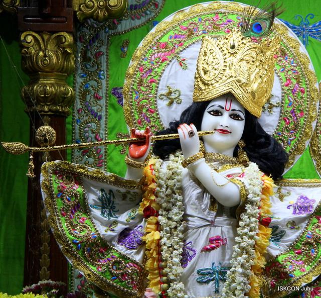 ISKCON Juhu Mangal Deity Darshan on 9th June 2019