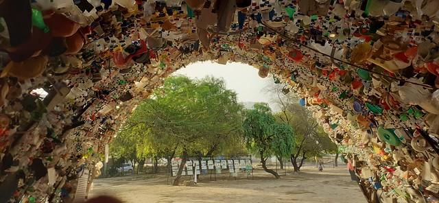"""""""Engulfing Garbage"""", Wazira bad Bund, Gurugram"""