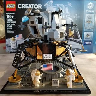 Building the Lego Lunar Lander