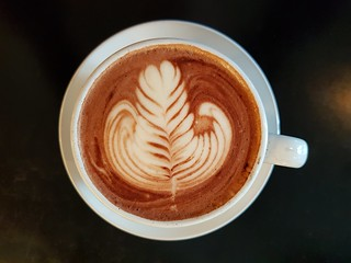 Dark Hot Chocolate at Grown