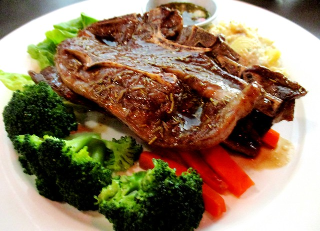 Cafe Cafe Swan Square lamb chop