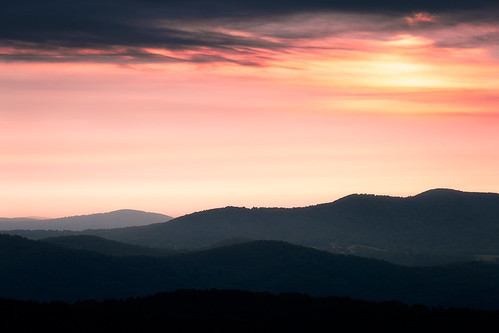 view lines usa landscape sky curves dawn nationalpark mountains panorama shadows hills background early sun appalachian morning shenandoah colorful silhouette virginia bright dark scenic skylinedrive ridge contrast distant sunrise travel hiking gallery:anchor=bottom