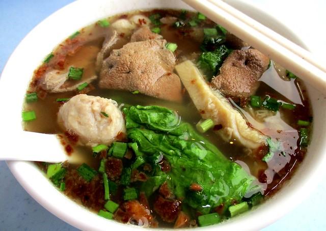 Noodle Shop combo soup