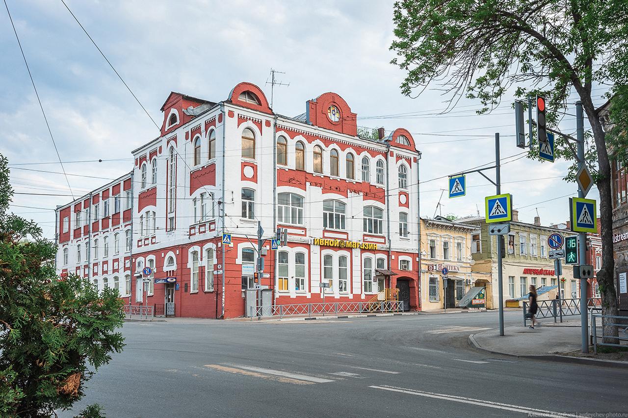 Здание типографии И. А. Федорова на Галактионовской