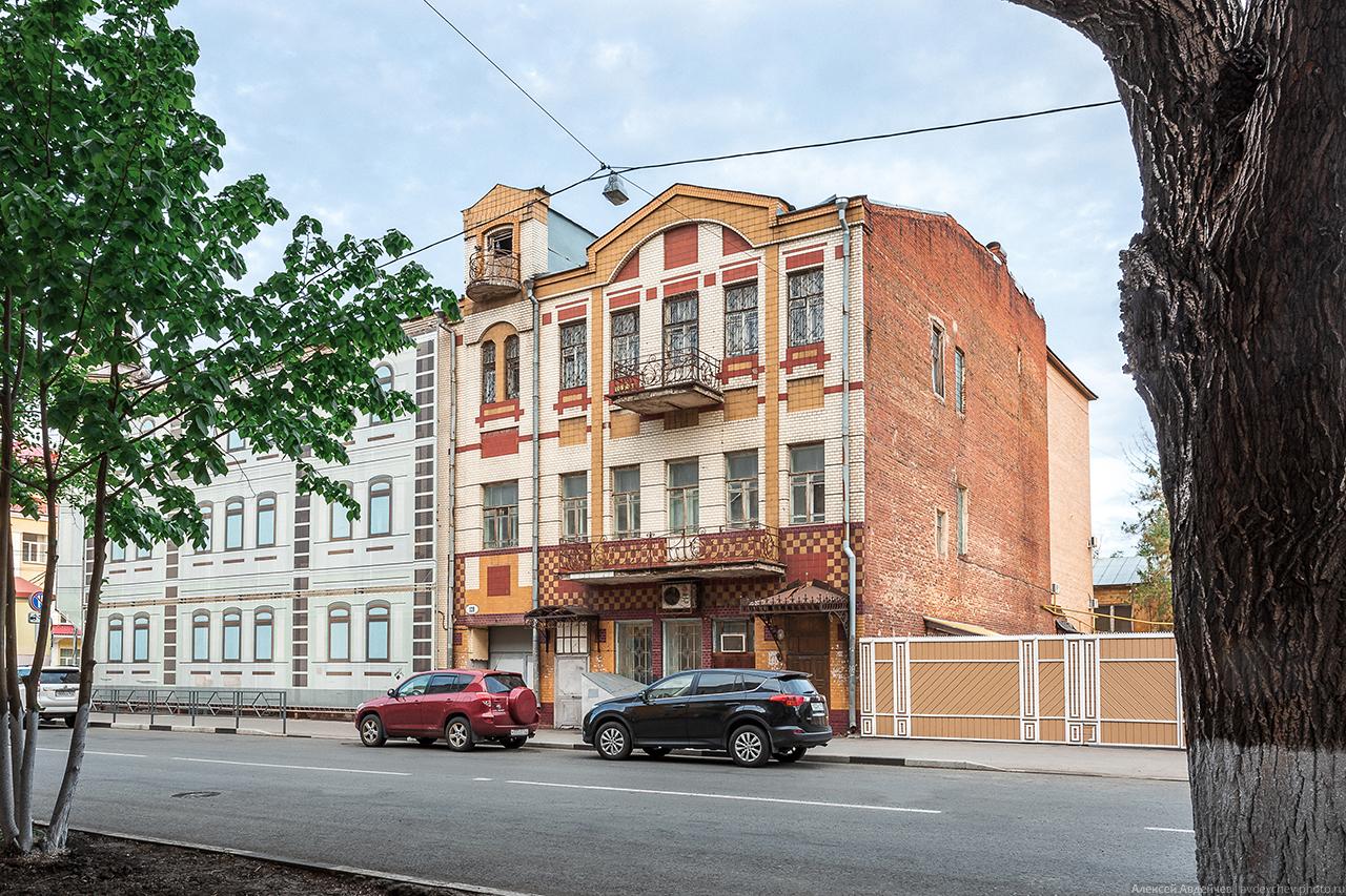 Доходный дом И.Е. Савельева (Молодогвардейская, 128)