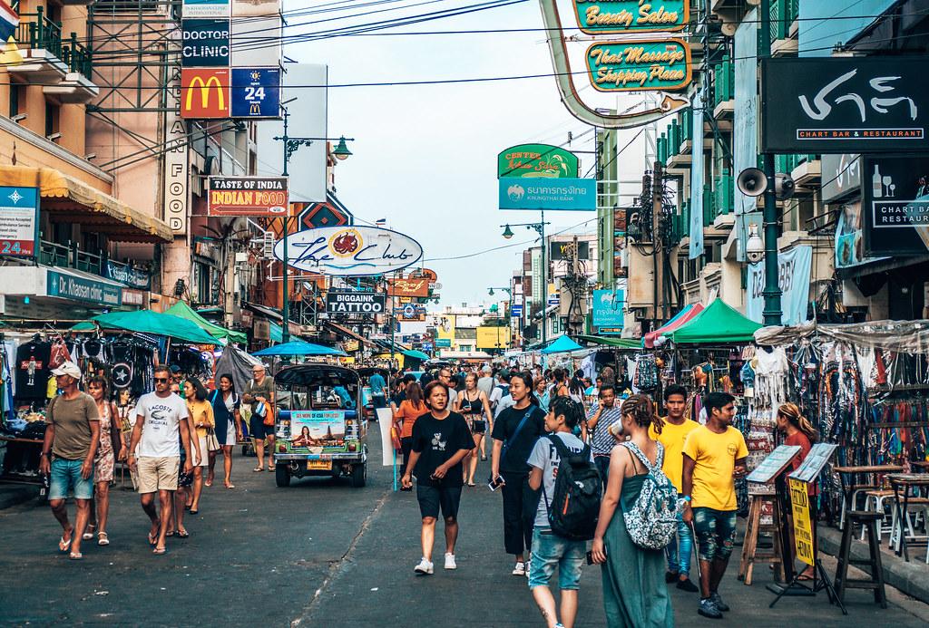 Khao San Road Bangkok   Khao San Road in Bangkok Thailand If…   Flickr