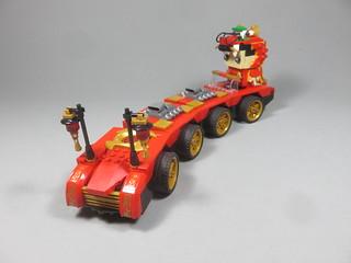 Brickheadz Dragon Car