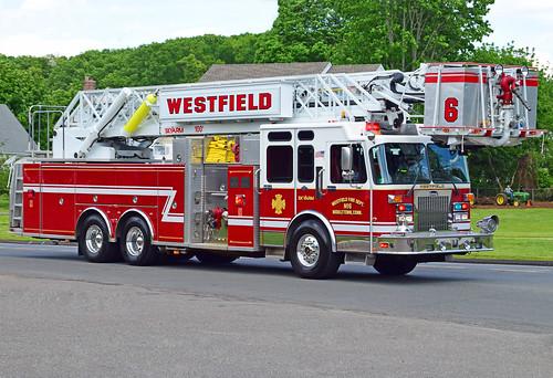 spartan fire truck middletown ct tower ladder westfield