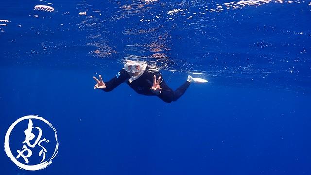 スノーケリングチームも青い海を大満喫~♪♪
