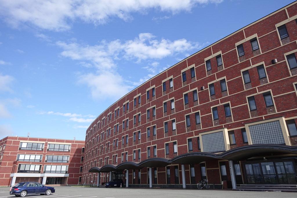 日曜で静かな稚内北星学園大学