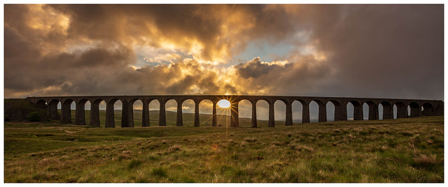 Sunrise at Ribblehead Viaduct