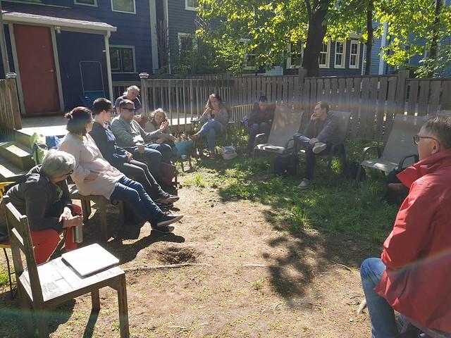 Garden conversation