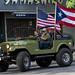 American & Puerto Rican Flags