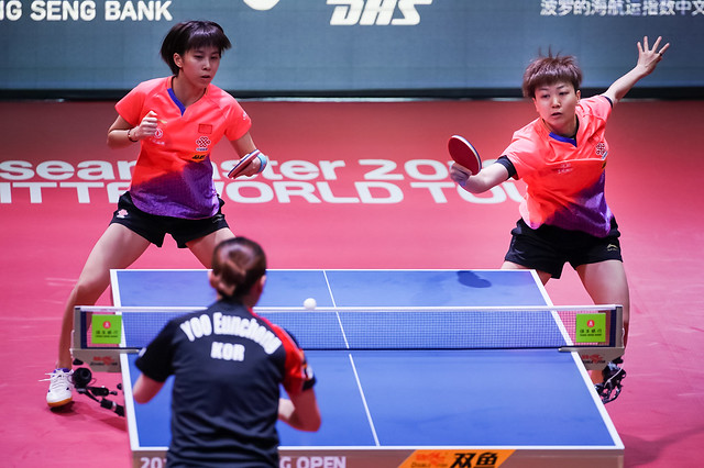Day 4 - Seamaster 2019 ITTF World Tour Hang Seng Hong Kong Open