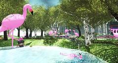 Flamingozilla - FF19 Campsite