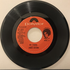 JAMES BROWN:MY THANG(RECORD SIDE-A)