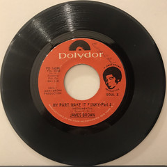 JAMES BROWN:MY PART,MAKE IT FUNKY(RECORD SIDE-B)
