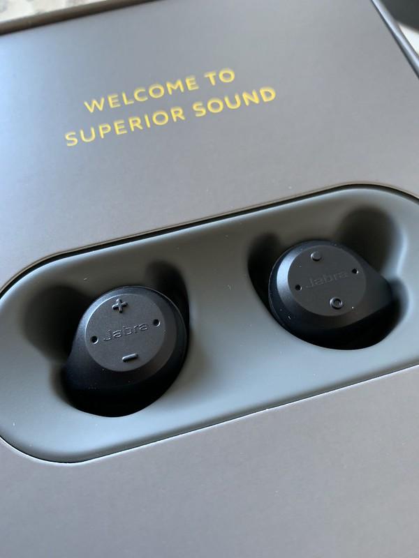 Jabra Wireless headphones (sport)
