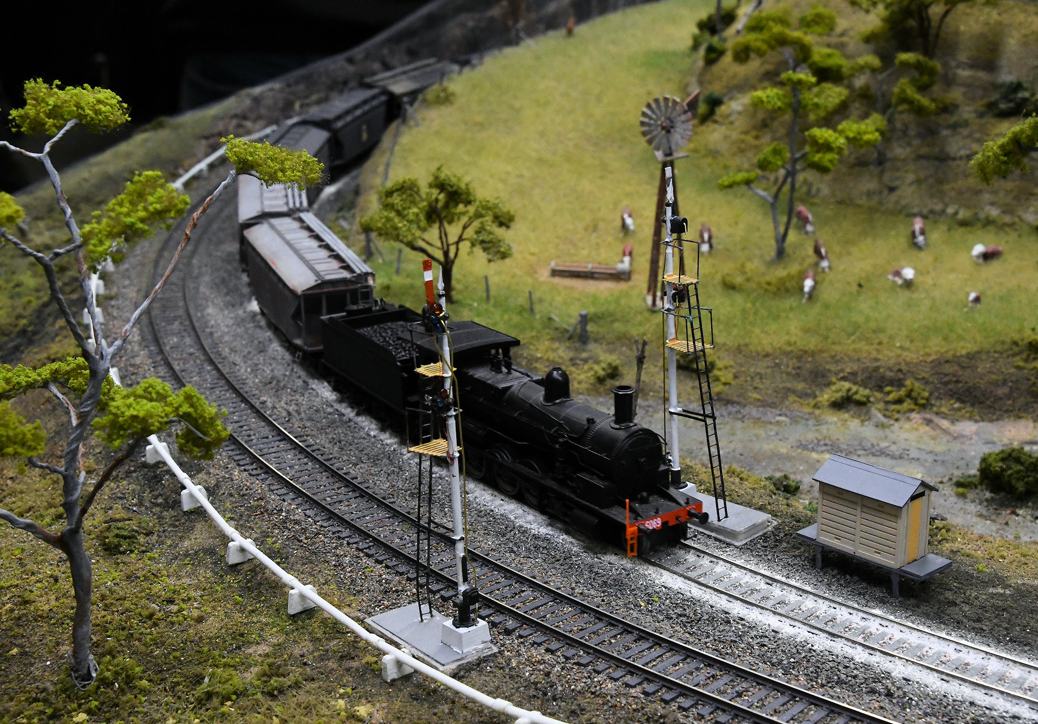 5069, Blue Mountains Layout, Epping Model Railway Exhibition, Rosehill, Sydney, NSW.