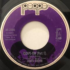 JAMES BROWN:ESCAPE-ISM(LABEL SIDE-A)