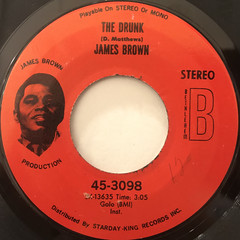 JAMES BROWN:A MAN HAS TO GO BACK TO THE CROSSROADS(LABEL SIDE-B)