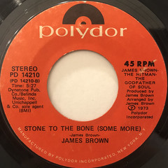 JAMES BROWN:STONED TO THE BONE(LABEL SIDE-B)