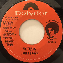 JAMES BROWN:MY THANG(LABEL SIDE-A)