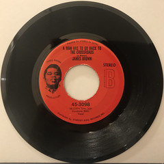 JAMES BROWN:A MAN HAS TO GO BACK TO THE CROSSROADS(RECORD SIDE-A)