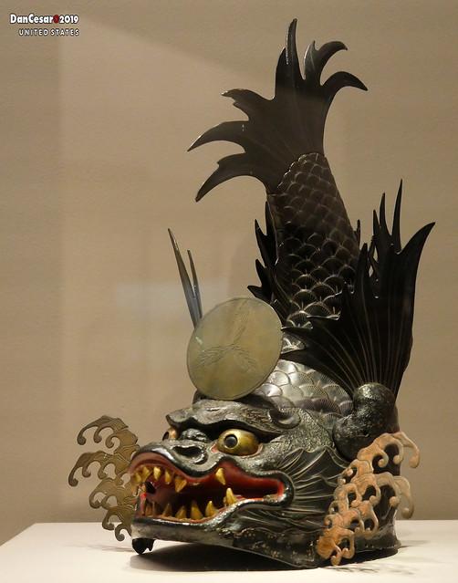 Helmet Shaped like a Shachihoko, Edo period, 17th-18th century