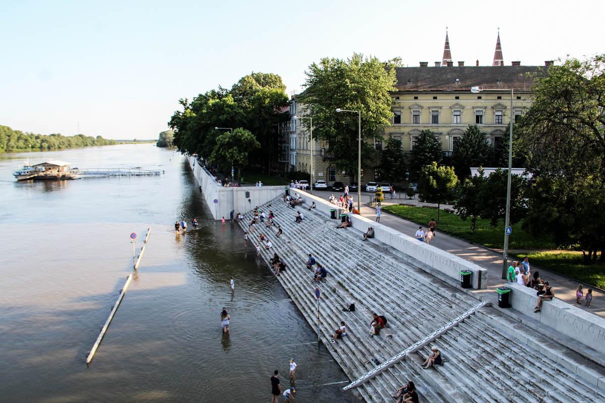 Tetőzik a Tisza, innentől csak csökkenni fog a vízszint