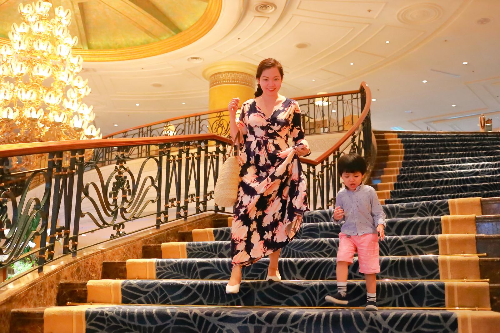 Leaving Shangri-La Hotel