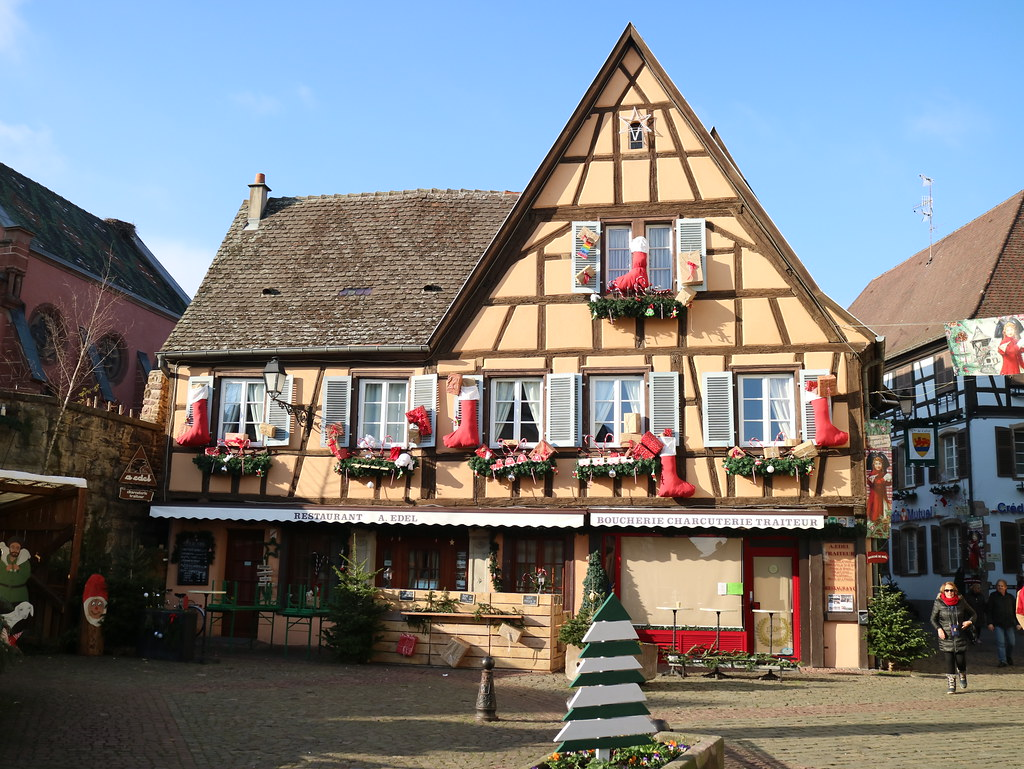 La villa de Eguisheim en Alsacia