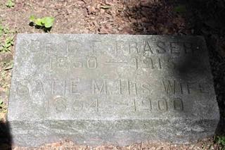 C.E. Fraser Tombstone