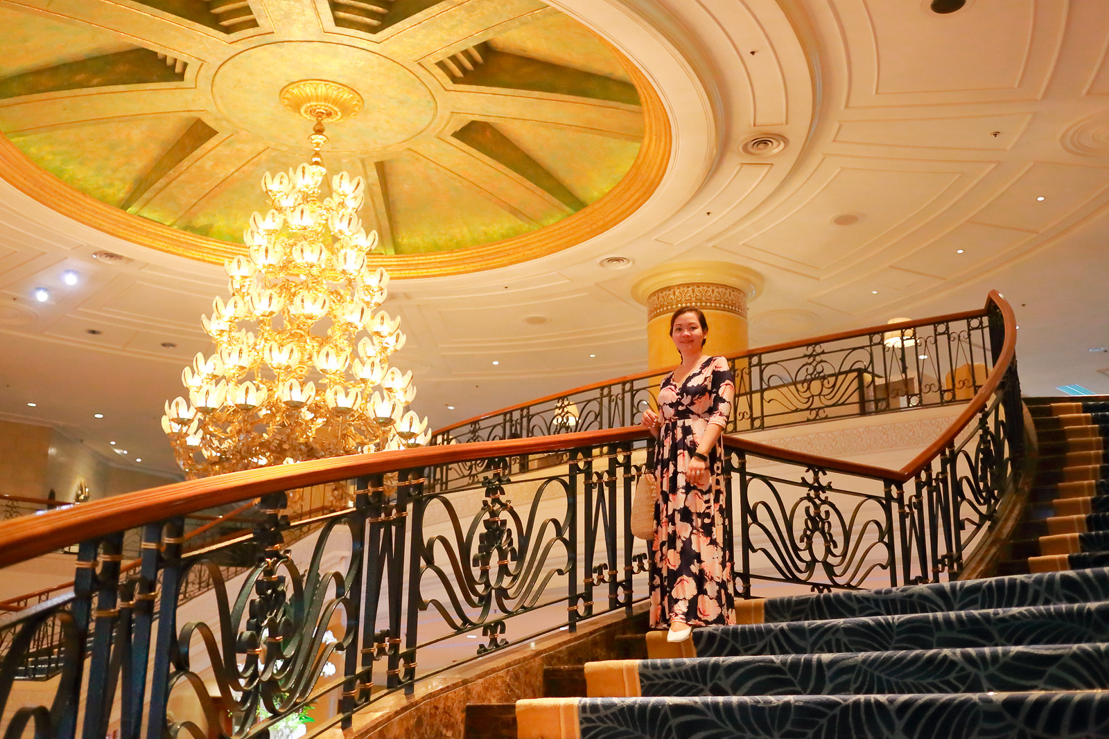 Jaycelle by the Shangri-La Hotel's Staircase