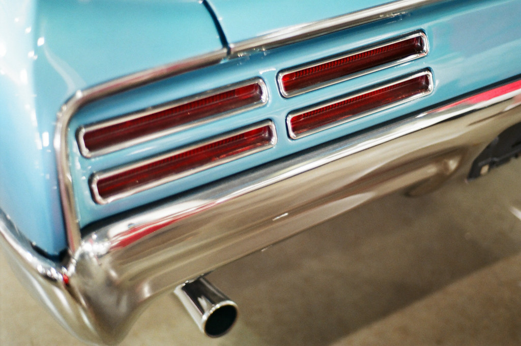 Slit tail lights