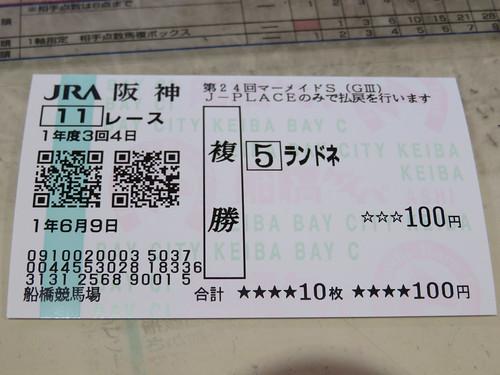 J-PLACE 船橋の馬券