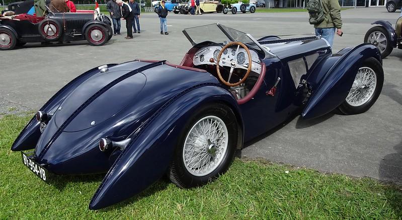 Bugatti 57160  Atlantic Spider 1934 - LER 2019 48030104306_8edf9357f5_c