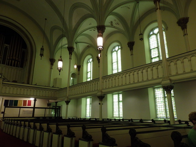 Interior, First Church in Albany
