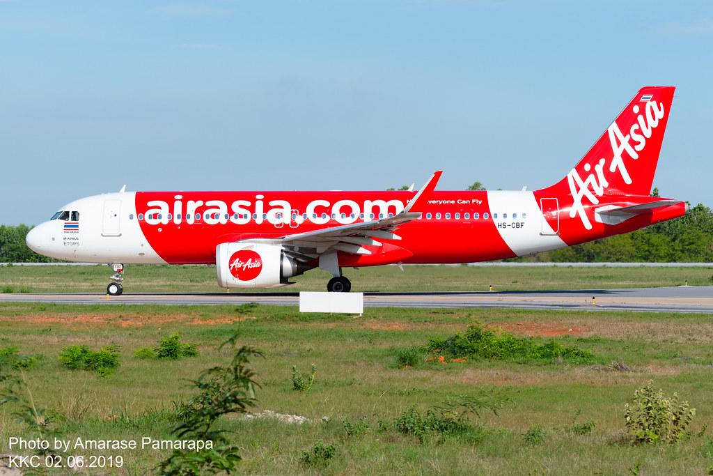 HS-CBF // Thai AirAsia Airbus A320-251N