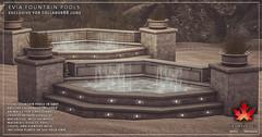Trompe Loeil - Evia Fountain Pools for Collabor88 June