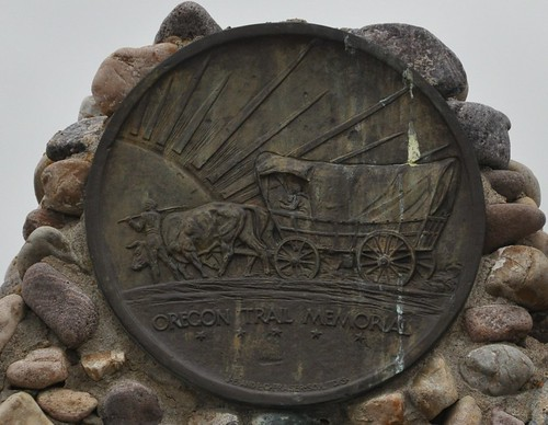 Oregon Trail Fort Hall Marker Plaque